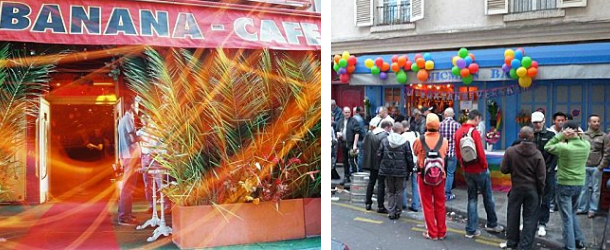 Guide Gay Paris – Le Banana café et Le Mic Man