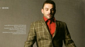 Marcel Schlutt : irrésistible en couverture du magazine Männer