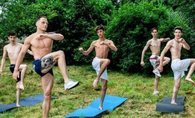 sport french twinks